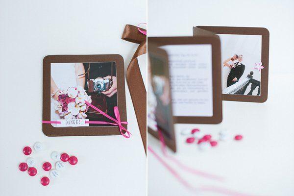 DIY Hochzeit Papeterie pink braun11