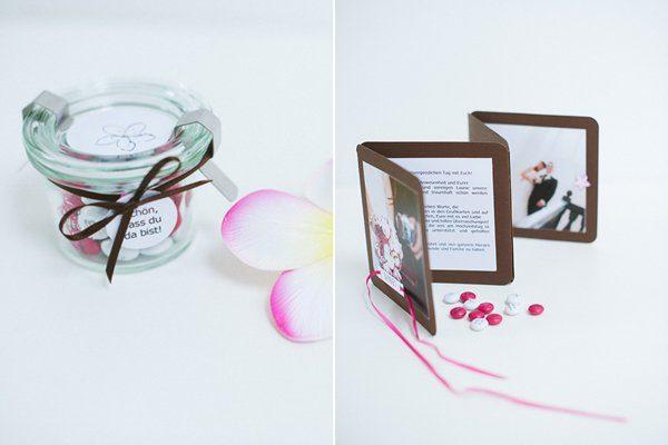 DIY Hochzeit Papeterie pink braun12