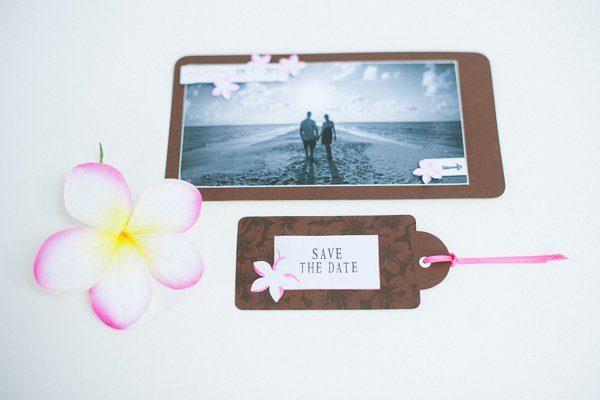 DIY Hochzeit Papeterie pink braun2