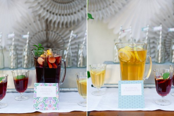 DIY Iced Tea Party Hochzeit Frl. K 3