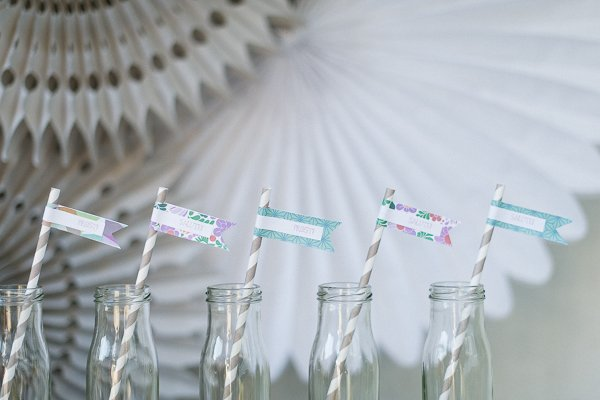 DIY Iced Tea Party Hochzeit Frl. K 6