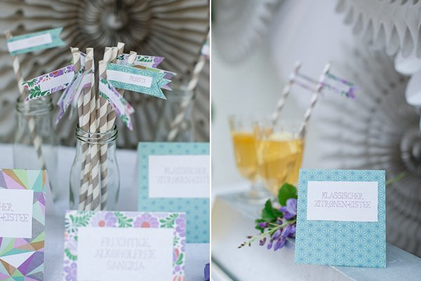 DIY Iced Tea Party Hochzeit Frl. K 8