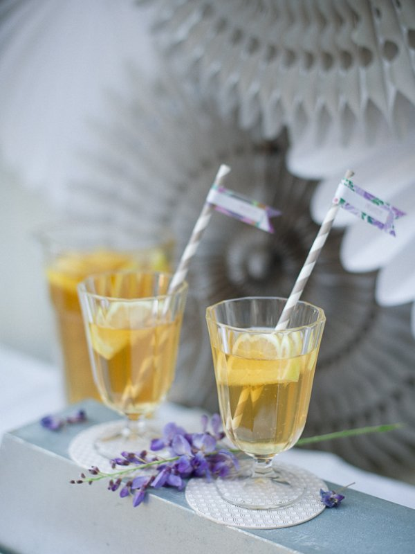 DIY Iced Tea Wedding Bar Frl. K sagt Ja
