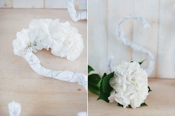 DIY Initialen aus Blüten3