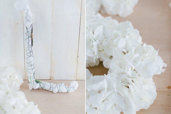 DIY Initialen aus Blüten4