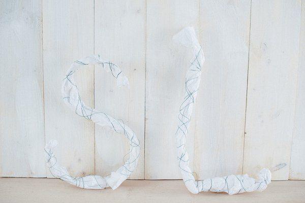 DIY Initialen aus Blüten2