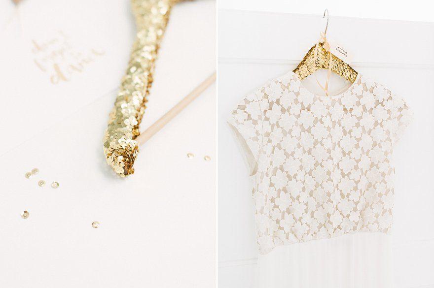 DIY Kleiderbügel für das Brautkleid 7