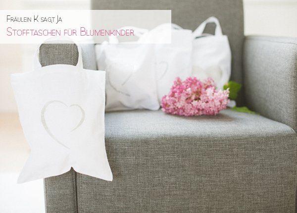 DIY Stoffbeutel für Blumenkinder von Frl K sagt Ja