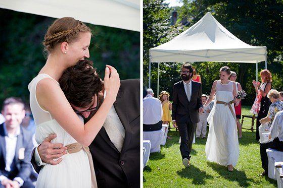 Ballkleider eine echte diy hochzeit im garten by - Hochzeit im garten ...
