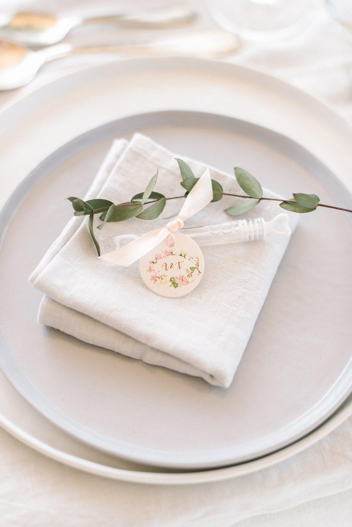 Gasgeschenk für Hochzeitsgäste