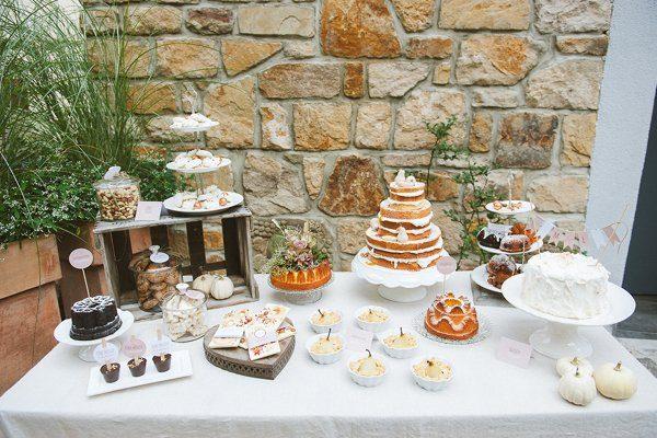 Dekokonzept für eine Hochzeit Festlicher Herbst10