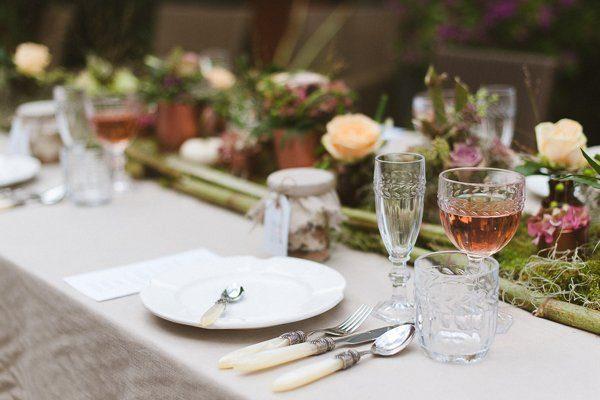 Dekokonzept für eine Hochzeit Festlicher Herbst18