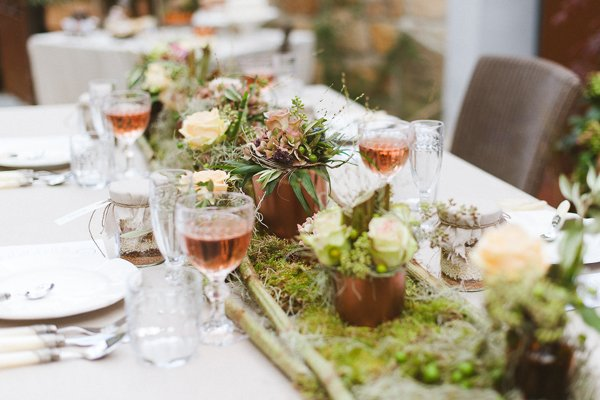 Dekokonzept für eine Hochzeit Festlicher Herbst20