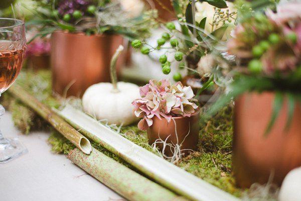 Dekokonzept für eine Hochzeit Festlicher Herbst25