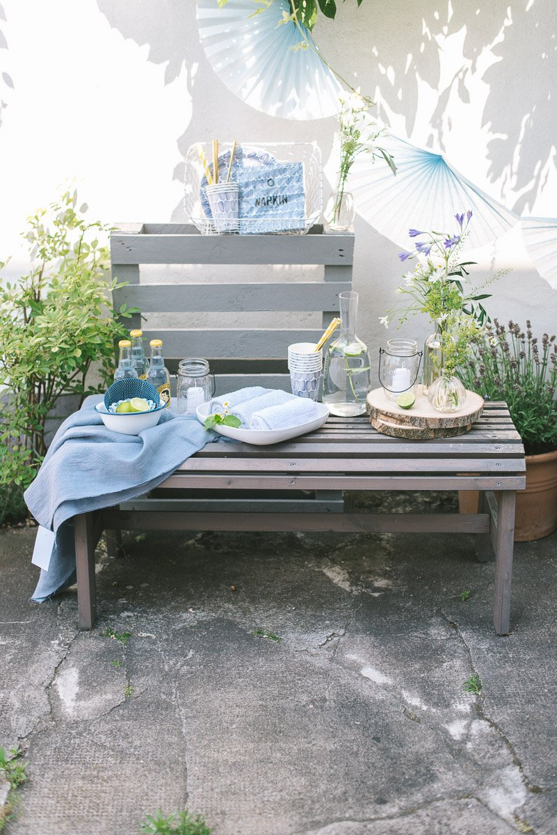 Erfrischende Ideen für Hochzeitsgäste