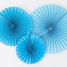 Pingel als Hochzeitsdemo in aqua blau