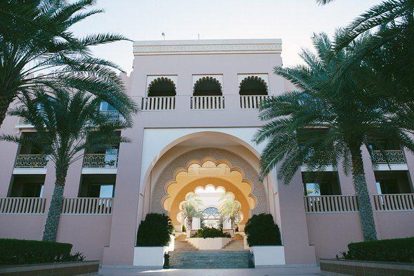 Flitterwochen Honeymoon Oman Shangri La's Abrr al Jissah10