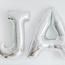 Folienballon Undzeichen und JA-001