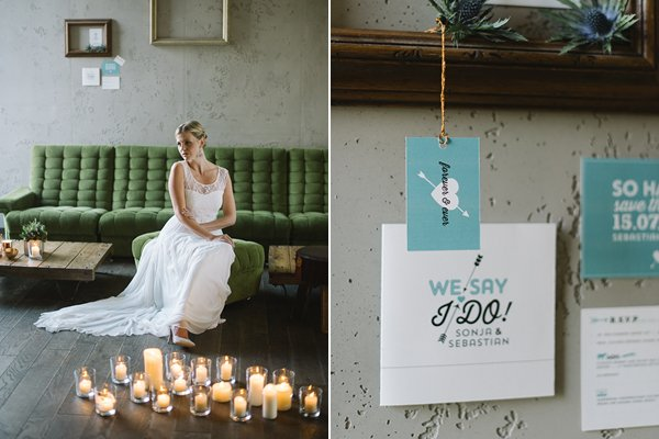 Fraeulein k sagt ja Wedding inspiration industrial urban by Katja Heil Fotografie 18