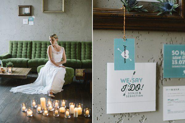 Fraeulein k sagt ja Wedding inspiration industrial urban by Katja Heil Fotografie 18