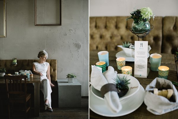 Fraeulein k sagt ja Wedding inspiration industrial urban by Katja Heil Fotografie 5