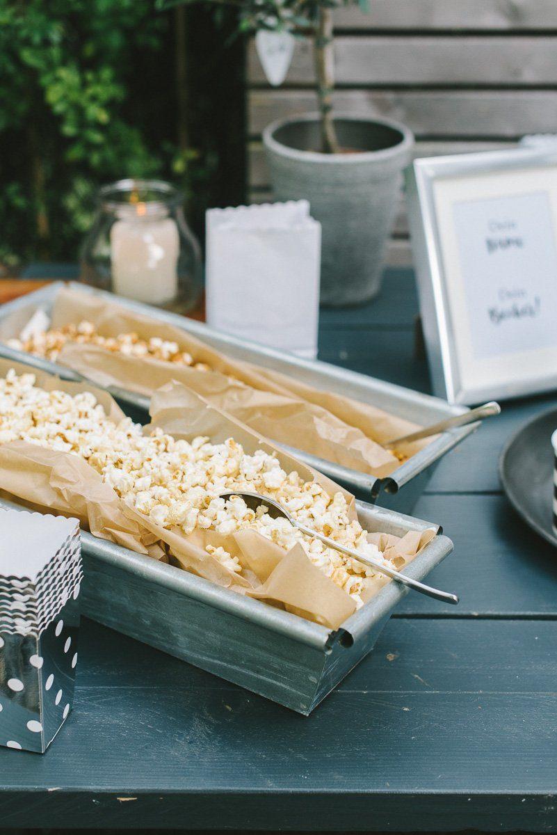 Popcorn Bar Anleitung