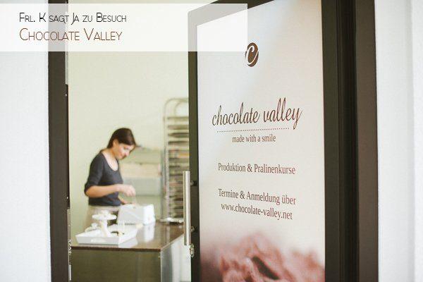 Frl. K bei Chocolate Valley Hochzeitspralinen