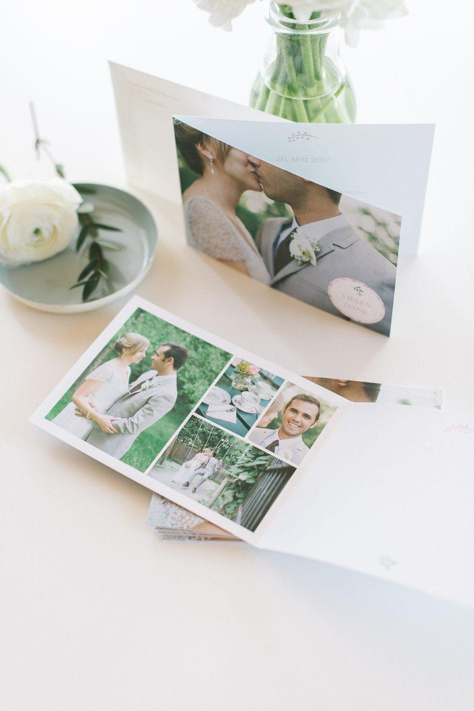 Individuelle Danksagungskarte zur Hochzeit von der Kartenmacherei