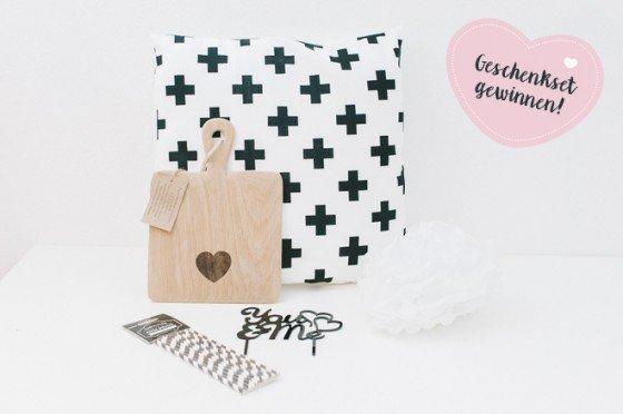 Brettchen, Kissen und Caketopper – Last Minute Geschenkset gewinnen!