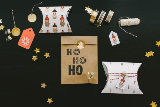 Weihnachtsgeschenke hübsch verpackt!