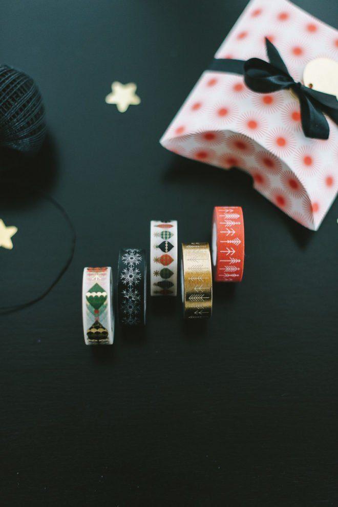 Masking Tape mit Weihnachtsmotiven gibt's im Frl. K Shop