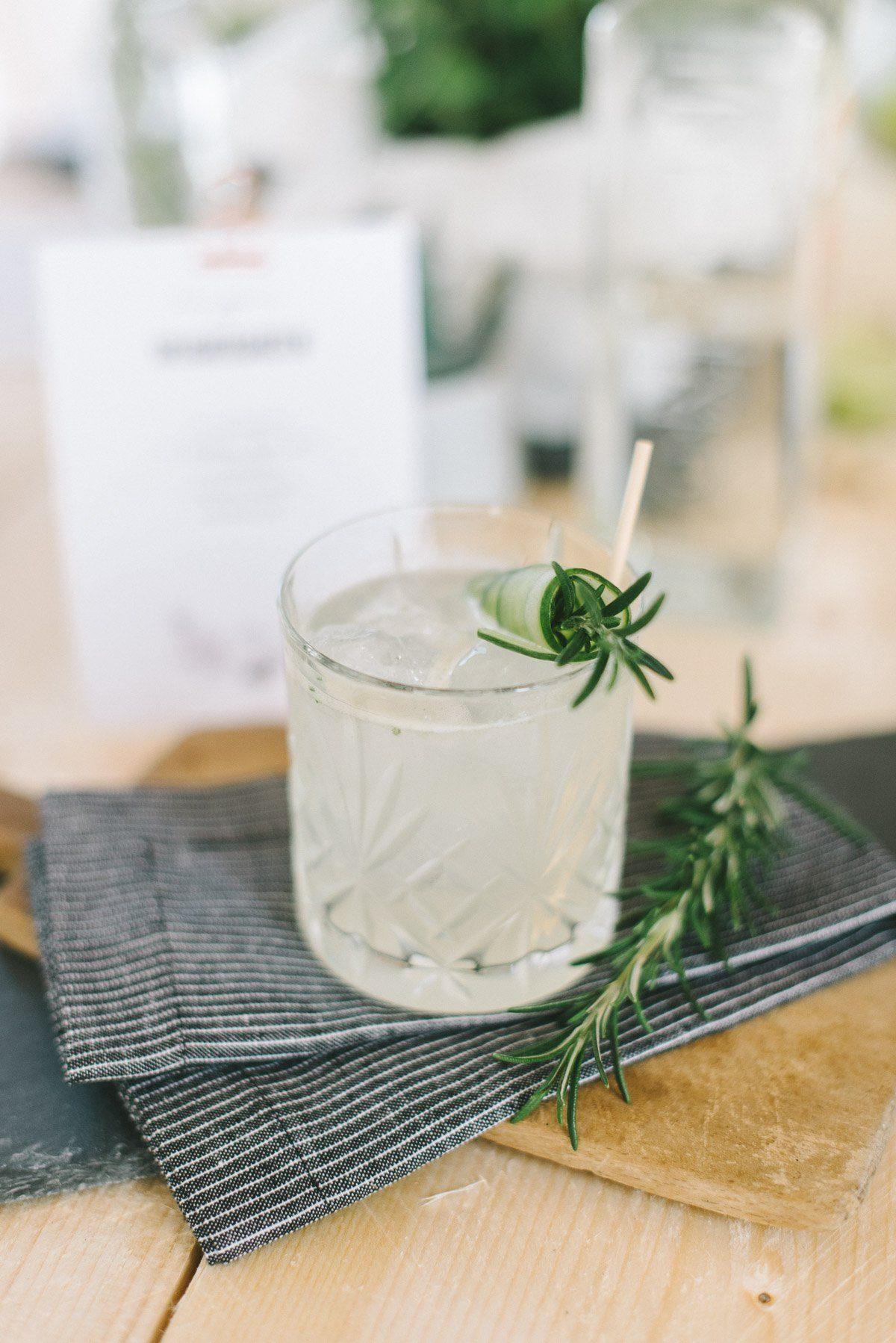 Gin Cocktail Speichergarten