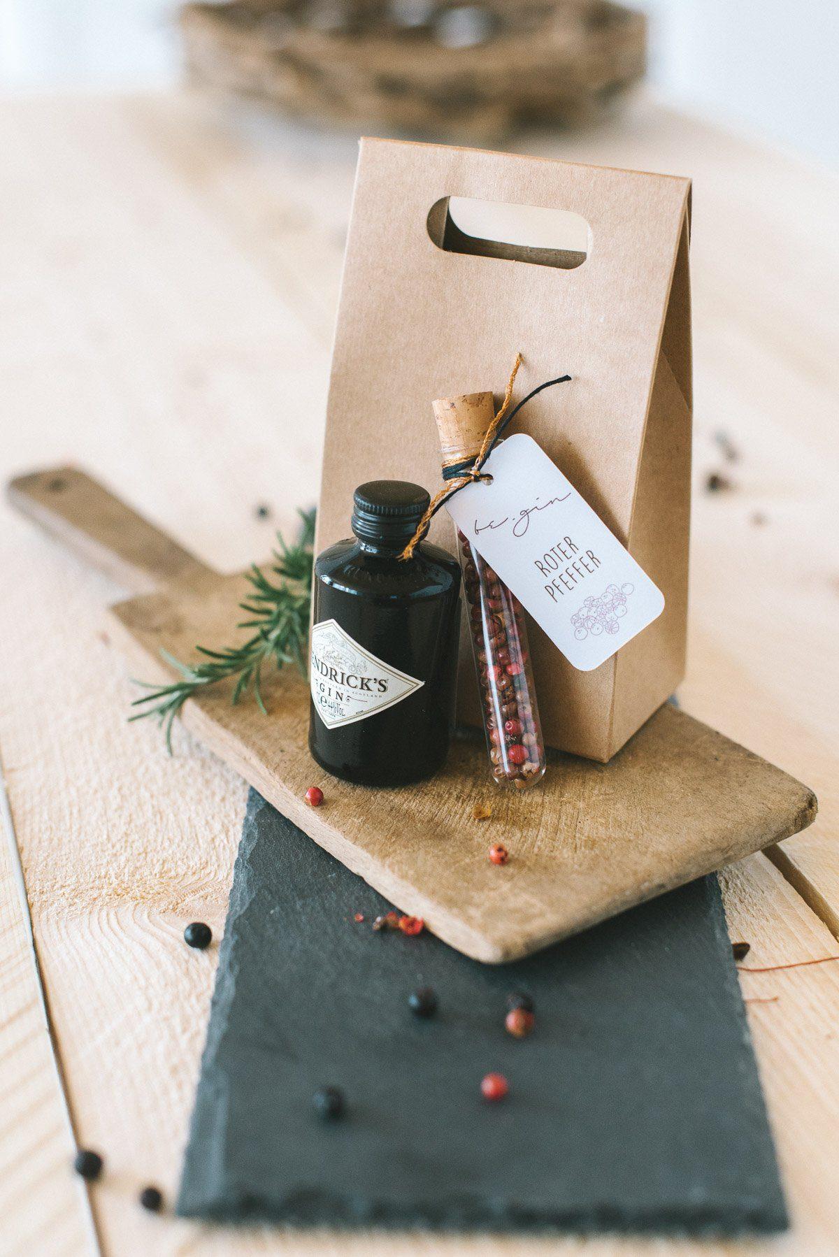 Geschenke mit Gin