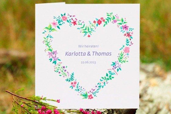 Nachhaltig heiraten: so klappts auch mit der Papeterie!