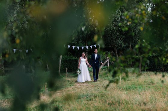 Hochzeit im eignen Garten feiern – Tipps vom Brautpaar