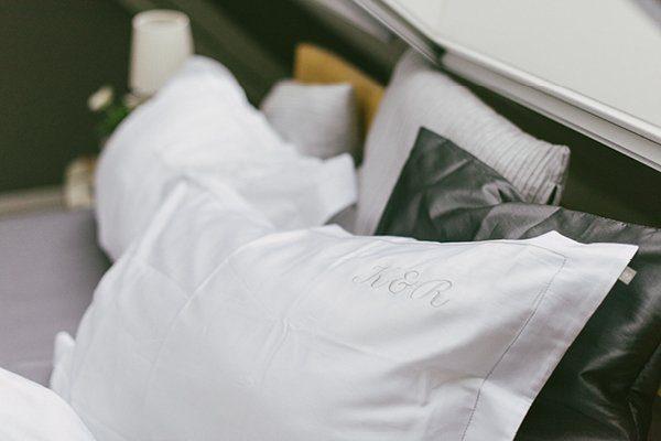 Hochwertige Bettwäsche mit Moniogramm von Belsonno6