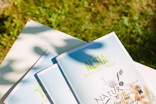 Hochzeit auf dem Bauernhof - Natürliche Hochzeit fotografiert von Aline Lange11
