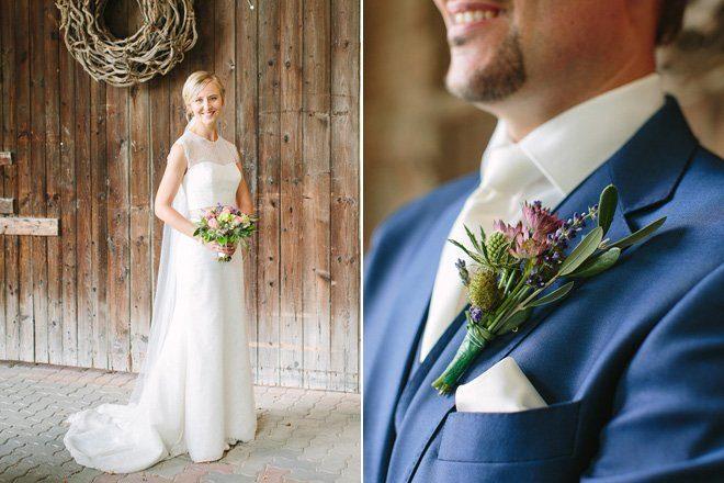 Hochzeit auf dem Bauernhof - Natürliche Hochzeit fotografiert von Aline Lange16