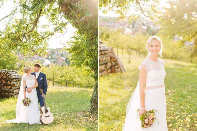 Hochzeit auf dem Bauernhof - Natürliche Hochzeit fotografiert von Aline Lange17