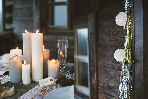 Hochzeit im Winter mit Gold und Glitzer von Fraeulein K sagt Ja 10