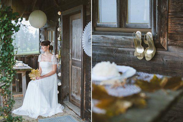 Hochzeit im Winter mit Gold und Glitzer von Fraeulein K sagt Ja 11