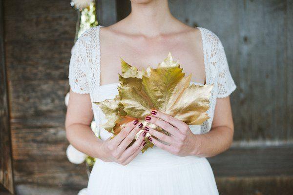 Hochzeit im Winter mit Gold und Glitzer von Fraeulein K sagt Ja 2