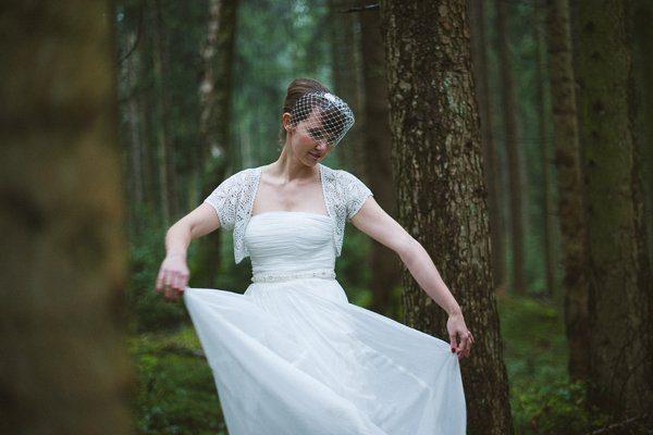 Hochzeit im Winter mit Gold und Glitzer von Fraeulein K sagt Ja 21