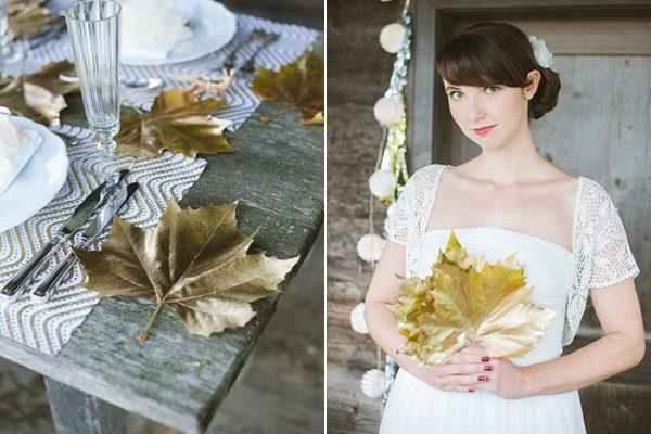 Hochzeit im Winter mit Gold und Glitzer von Fraeulein K sagt Ja 4