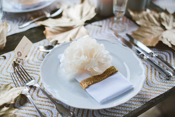 Hochzeit im Winter mit Gold und Glitzer von Fraeulein K sagt Ja 5