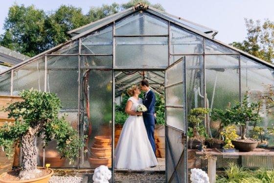 Süße Hochzeit im Gewächshaus – Julia Hofmann Photography