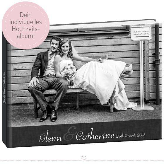 Hochzeitsblogger Adventskalender Album mit Designservice