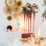 Hochzeitsdeko Gold Bordeaux-79