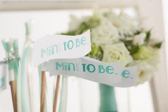 """""""Mint-to-be"""" ein Hochzeitskonzept mit Malediven Urlaubsfeeling"""