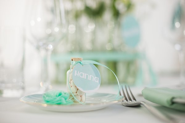 Hochzeitsdeko Türkis Hochzeitsmesse rhein-weiss2